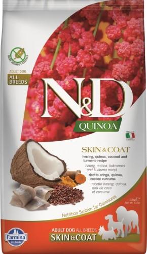 N&D Dog Quinoa Skin&coat Herring